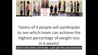 $2,000 Cash Weight Loss Contest - Announcing Thinner to Winner 2016