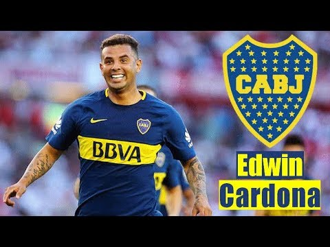 Edwin Cardona [Rap] A Fuego Lento | Boca Juniors | Mejores Jugadas y Goles | Crack 2018 | HD1080p