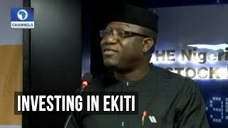 Fayemi Says Focus Is On Agric, Education