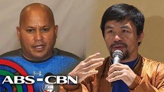 Hinimok ni Senador Manny Pacquiao ang mga bagong halal na opisyal n...