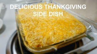 CORN CASSEROLE RECIPE | THANKSGIVING SIDE DISH