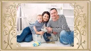 Семейный фотоальбом - шаблон слайд-шоу