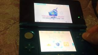 OOT3DHAXS-REVIEW FOR 3DS Homebrew running firmware 10.5
