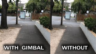 DJI Osmo Mobile 2 Gimbal - Test Footage comparison