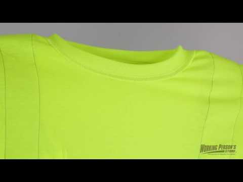Berne High Visibility HVK002 Men's Short Sleeve T-Shirt