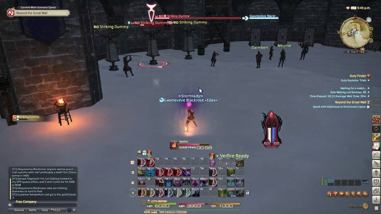 FFXIV: Stromblood Red Mage Combat