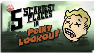 The 5 Scariest Places In Point Lookout ► Fallout 3