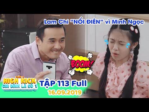 Gia đình là số 1 Phần 2 | Tập 113 Full: Lam Chi NỔI ĐIÊN vì bị Ba Minh Ngọc cười trên nỗi đau