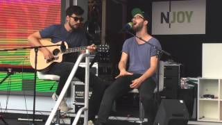 Au Revoir - Mark Forster feat. Sido unplugged in Rostock Warnemünde LIVE