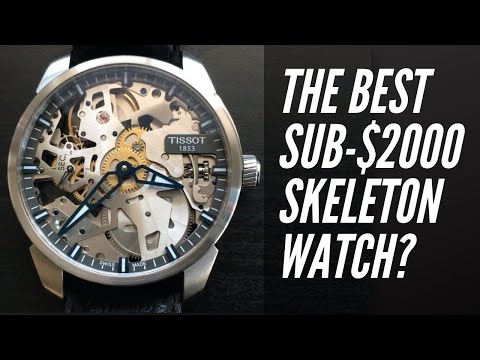 The Best Skeleton Watch Under $2000? Tissot T-Complication Squelette Review