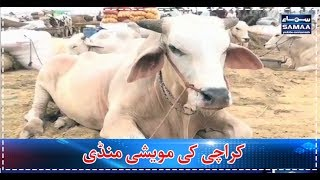 Karachi Ki Mawaishi Mandi | SAMAA TV | 31 July 2017