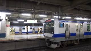 【特別快速】常磐線E531系 北千住駅