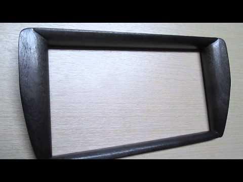 панель магнитолы из дерева-6