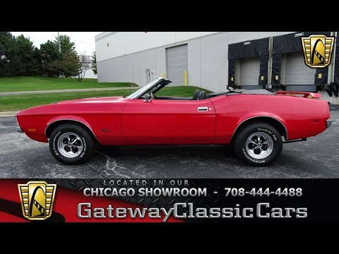 1970 Ford Mustang Convertible Gateway Classic Cars Chicago #1259