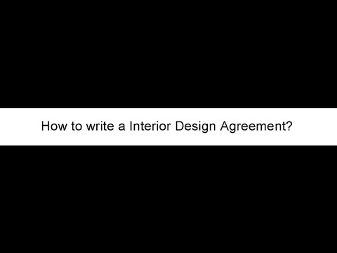 13 Important Clauses To Add To Interior Design Contract