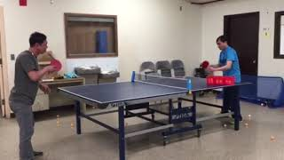 Practice Ping Pong @ St Ambrose Church