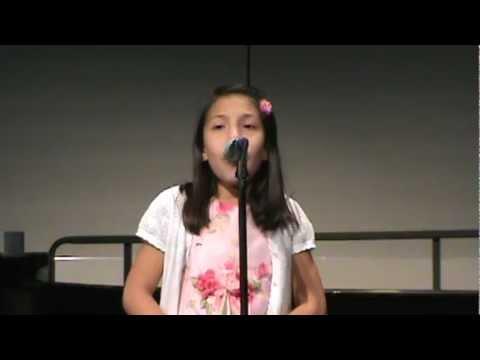 8 year old sings My Favorite Things