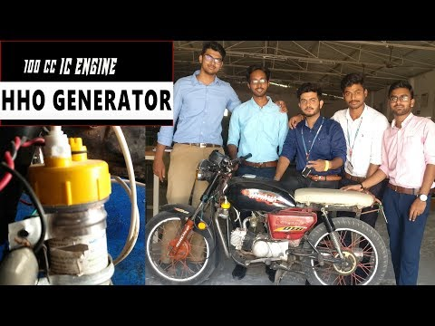 Hydrogen Generator | HHO Kit | Mechanical Engg Project