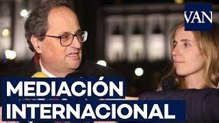 Torra pide mediación internacional a cuatro congresistas de EE.UU