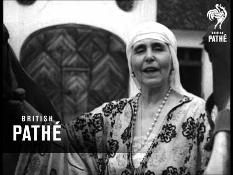 Camera Interviews - Queen Marie Of Rumania, At Home (1934)