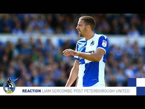 Reaction: Liam Sercombe Post Peterborough
