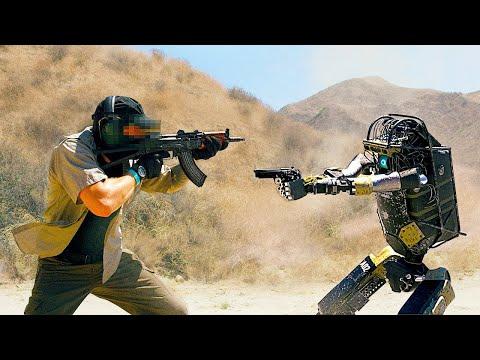 Новый робот делает солдат устаревшим( Boston Dynamics от Corridor)Кожаные ублюдки, робот и полигон