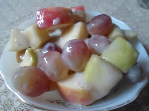 Creamy Grape Salad Healthy And Tasty