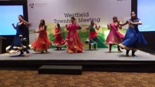 Westfield client visit Dance performance - 2016