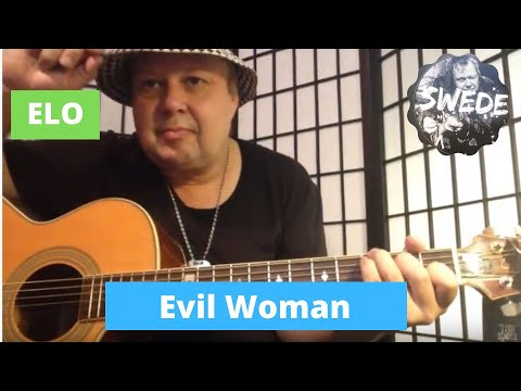 evil woman - elo - Guitar Lesson - YouTube