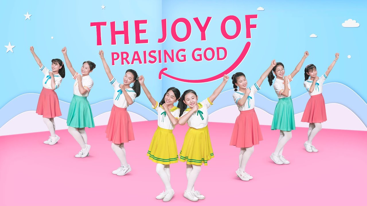 "Download 2020 English Christian Song ""The Joy of Praising God"" | Kids Dance"