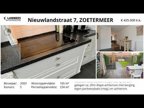 Koopwoning: Nieuwlandstraat 7, Zoetermeer