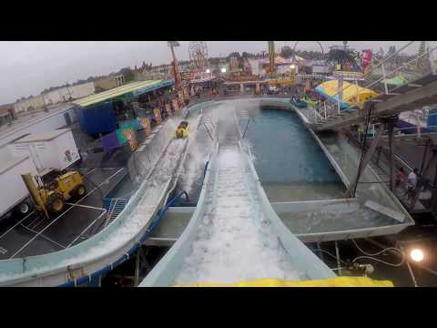 Niagara Falls at SC State Fair Columbia SC on-ride POV