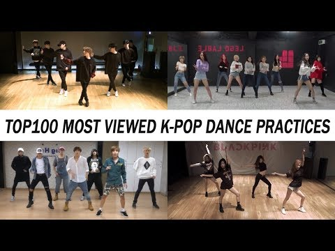 [TOP 100] MOST VIEWED K-POP DANCE PRACTICES •April 2018