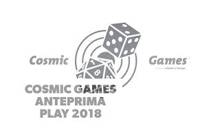 Cosmic Games - Anteprima Play 2018