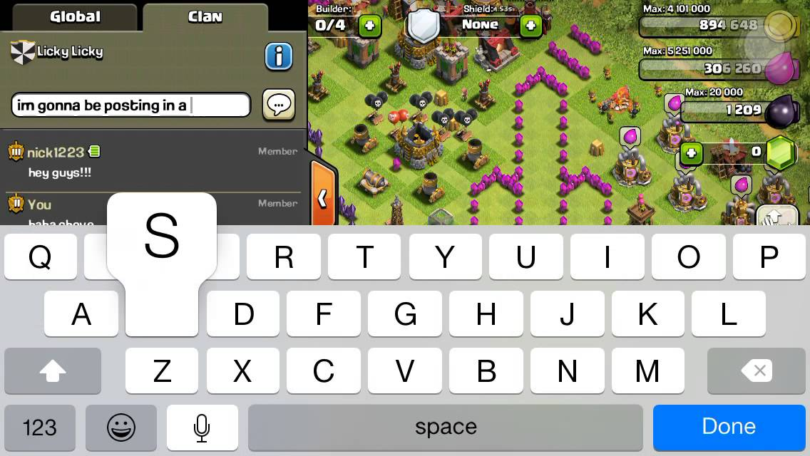 Most Funny Clan Chat Convorsation On Clash Of Clans Haha Youtube