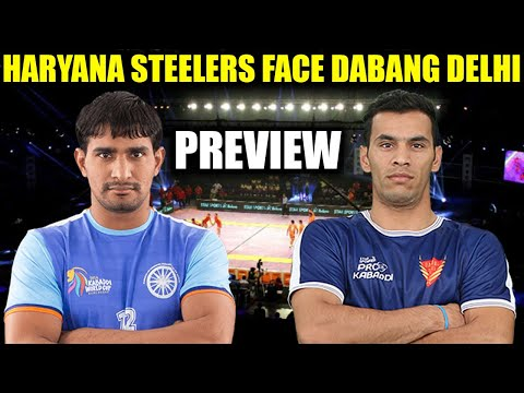 PKL 2017: Haryana Steelers take on Dabang Delhi Match preview | Oneindia News