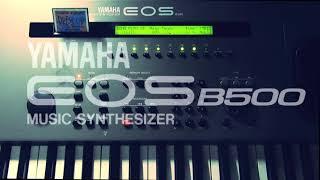 【YAMAHA EOS B500】 TK3 - demo演奏【TMネットワーク】