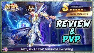 GOD CLOTH SEIYA Showcase [REVIEW & PVP] - Saint Seiya Awakening
