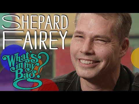 Shepard Fairey (Obey Giant) - What's In My Bag?