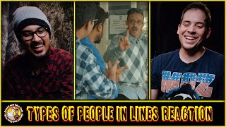 Types of People in Lines   Queues in India   Jordindian Reaction and Discussion