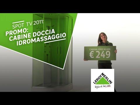 Promo prodotto cabina idro leroy merlin youtube for Leroy merlin piatto doccia