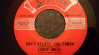 Lenny Miles - Don