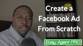 إنشاء Facebook الإعلان من الصفر