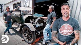 Un tesoro sobre ruedas:Richard apuesta automóvil de 1915 | El Dúo mecánico | Discovery Latinoamérica