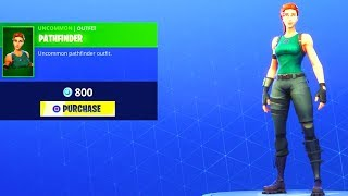 NEW! ITEM SHOP UPDATE (*RARE* OG SKIN PATHFINDER Is Back) Fortnite Battle Royale