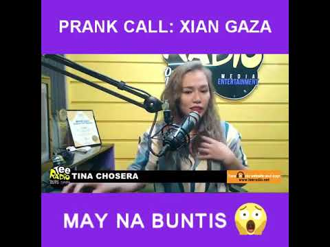 Prank Call: XIAN GAZA May Nabuntis!
