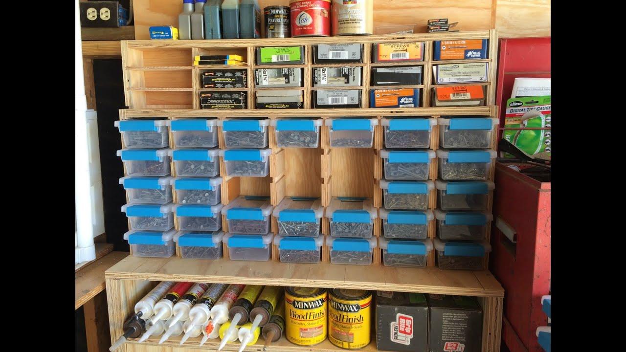 Multipurpose Garage Storage Station  YouTube