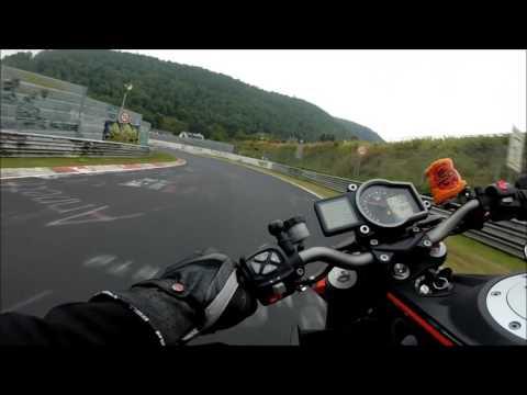 Nürburgring-Nordschleife KTM 1290 Superduke R