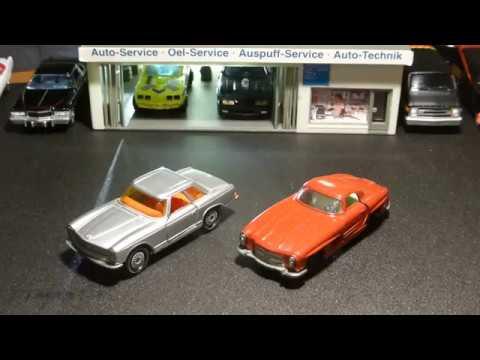 VW Polo IV   1:87 von Wiking rotmetallic