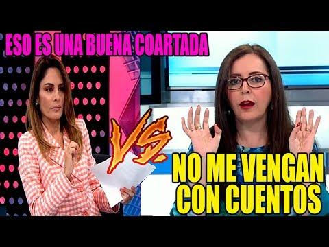 MAVILA HUERTAS VS ROSA BARTRA 'NO ESTOY CRITICANDO A RAFAEL VELA'